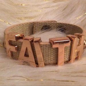 BCBG Faith bracelet